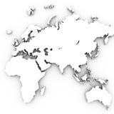 3d mapa Fotografia Royalty Free