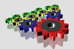 3D, mechanism Stock Photos