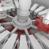 3d Mechanism Royalty Free Stock Photography