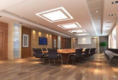 3d meeting room royalty free illustration