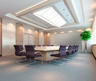3d meeting room Stock Photo