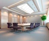 3d meeting room Stock Photo