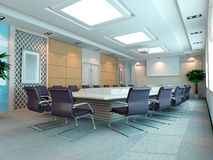 3d meeting room Stock Images