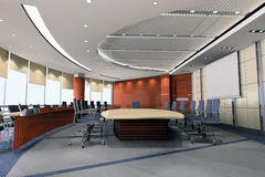3d meeting room 2 Stock Image