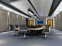 3d meeting room 3 Royalty Free Stock Photography
