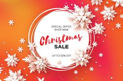 Free 3D Merry Christmas Big Sale For Promotion. 50 . Buy Now. Paper Cut Snowflakes Banner. Origami Decorations. Snowy Winter Stock Photos - 102841173