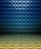 3d metaal vierkante tegels Stock Afbeeldingen