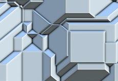 3d metal abstrakcjonistyczna powierzchnia Zdjęcia Royalty Free