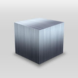 3D Metal Box Stock Image