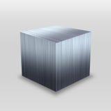 3D Metal Box Stock Image
