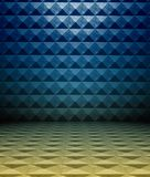 3d metal square tiles Stock Images