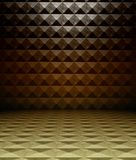 3d metal square tiles Royalty Free Stock Photo