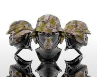 3d militairen Stock Afbeeldingen