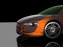 3d model car Royalty Free Stock Image