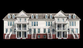 3d model of condominium Stock Photos