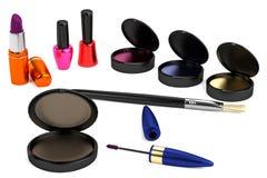 3d model of cosmetics Stock Image