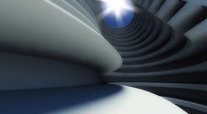 3d modern architecture interior. Background Stock Photos