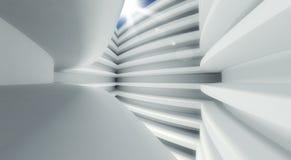 3d modern architecture interior. Background Stock Photo