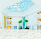3d modern hall,corridor Stock Photography