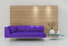 3d Modern Interior Royalty Free Stock Photo