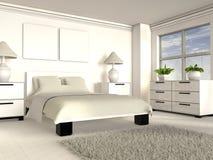 3D modern interior Stock Photos