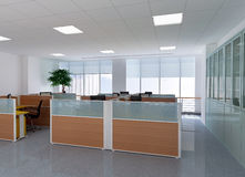 3d modern office room Stock Photography