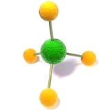 3d molecule Stock Image