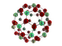 3d molecule Royalty Free Stock Photography