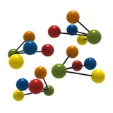 3d molecule Royalty-vrije Illustratie