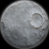 3d moon Stock Photos