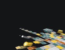 3d mosaic Stock Photography