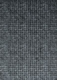 3d mosaic wall floor in gray gradient grunge stone Stock Image