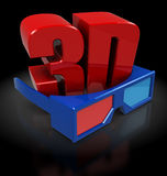 3d movie Royalty Free Stock Photo