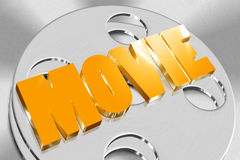 3D Movie stock illustration
