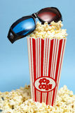 3D Movie Entertainment Royalty Free Stock Images