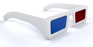 3d movie glasses Stock Photos