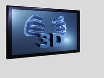3D movies. Illustration about 3D movies - isolated - 3D Stock Images