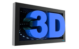 3d movies Stock Image