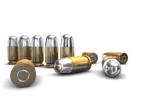 3D munitie Stock Fotografie