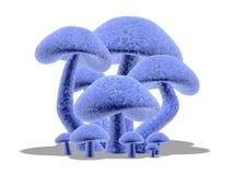 Free 3d Mushrooms 2 Stock Photos - 300373