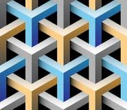 3d naadloos patroon Vector Illustratie