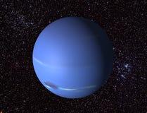 3D Neptun Lizenzfreies Stockbild