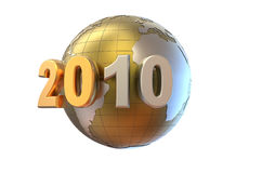 3d new year background Stock Photo