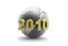3d new year background Royalty Free Stock Photos