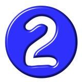 3D nombre comique 2 Image stock