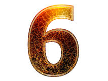 3d number Royalty Free Stock Image