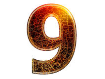 3d number Stock Image