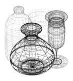 3d objects design Stock Photos