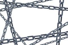 3d odosobneni łańcuchów połączenia royalty ilustracja