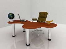 3d office Stock Photography